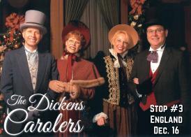 England - DIckens Carolers image