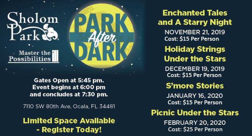 Park after dark events