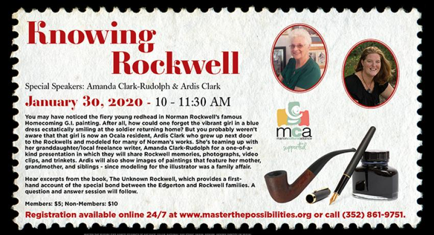 knowing rockwell poster