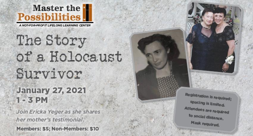 The Story of a Holocaust Survivor image