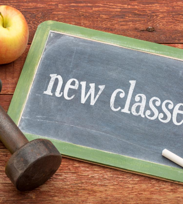 New classes on Blackboard
